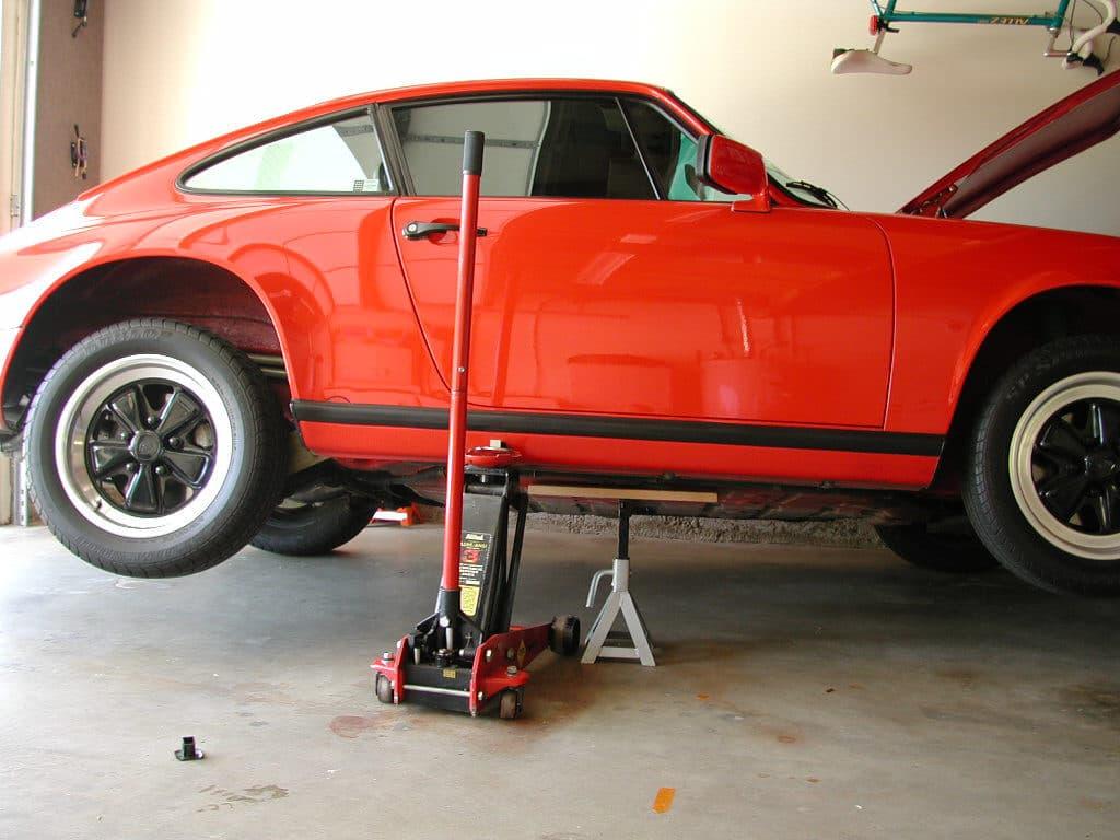 Porsche 911 Oil Cooler Scoop Installation 911 1965 89