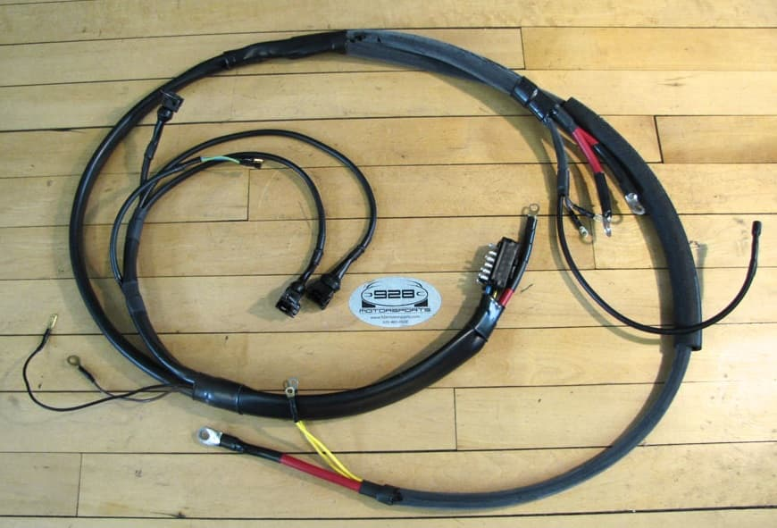 EngineWireHarness2 porsche 928 (1978 1995) switches, motors, relays, fuses & wiring porsche 911 wiring harness at gsmx.co