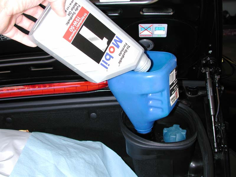 pelican technical article: boxster oil change